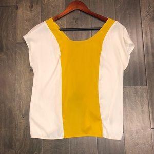 Forever 21 open back blouse
